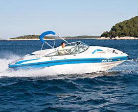 Sport Boot im Adriatische See